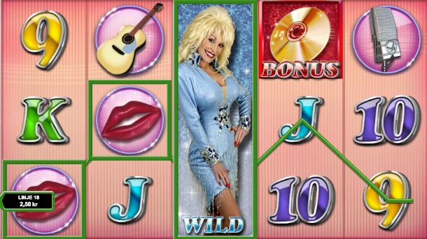 Dolly Parton Whole video slot