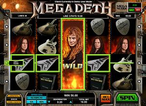 MegaDeth whole slot machine